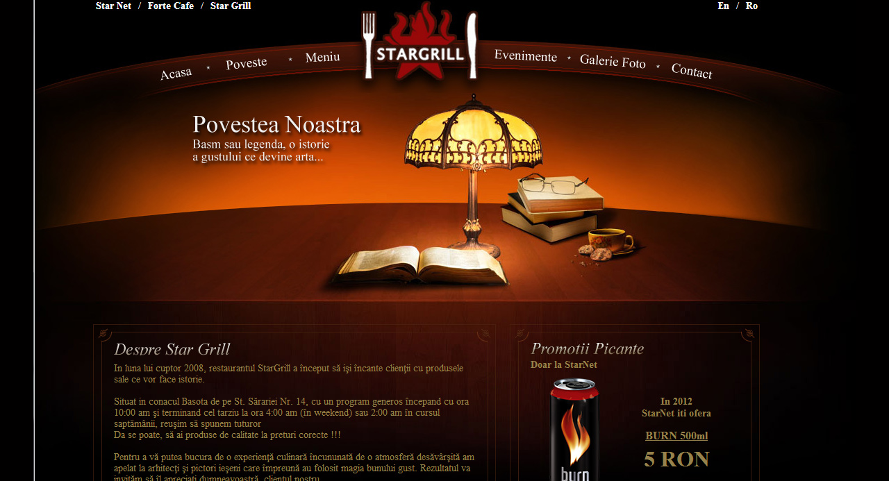 Star Grill Web Design